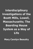Interdisciplinary Investigations of the…