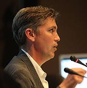 Author photo. Steven Berlin Johnson. Photo courtesy Meet the Media Guru.