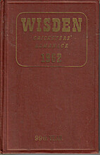 Wisden Cricketers' Almanack 1962 by Norman…