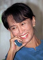 Author photo. Aung San Suu Kyi