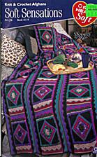 Knit & Crochet Afghans Soft Sensations Book…
