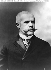 Author photo. Assistant Secretary of the Navy James R. Soley: He served in that office from 18 July 1890 to 19 March 1893. (history.navy.mil)
