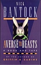 Averse to Beasts (book & cassette edition)…