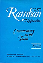 Ramban Commentary: Leviticus by Rabbi Dr…