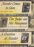 Murder Comes to Eden | The Judge and His…