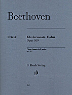 Klaviersonate E-dur : Opus 109 = Piano…