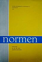 Nederlandse normen, verzameling van…