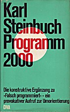 Programm 2000 by Karl Steinbuch