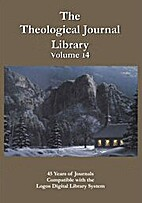 Theological Journal Library, vol. 14 by…