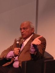 Author photo. Gamal al-Ghitany, 2014, by Moumou82 (CC BY-SA 3.0) via Wikimedia Commons