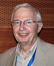 Author photo. Portrait of Prof. Jean-Marie Lehn after a lecture at ETH Zurich, August 2012 [credit: Martina Steiner]