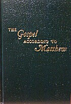 The Gospel According to Matthew, Volume 5 by…