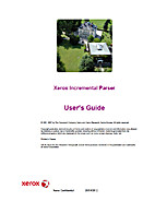 Xerox Incremental Parser User's Guide by…