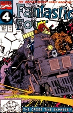 FANTASTIC FOUR #354 by Walter Simonson