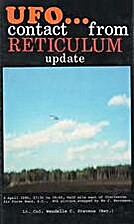 UFO...Contact from Reticulum: Update by…