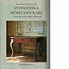 Sydsvenska möbelsnickare : 1700-tal och…