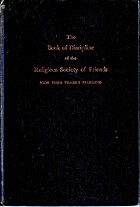 The book of discipline of the Religious…
