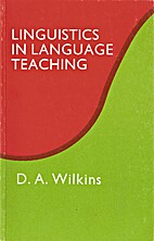 Linguistics in Language Teaching by D.A.…