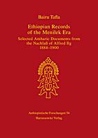 Ethiopian Records of the Menilek Era -…