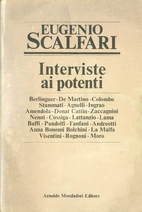 Interviste ai potenti by Eugenio Scalfari