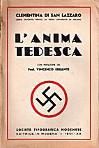 L'anima tedesca by Clementina Di San Lazzaro