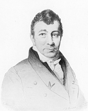 Author photo. Engraving by L. Moritz/J.H. Rennefeld