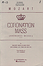 Missa in C (Coronation Mass) (K 317) by…