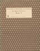 Writing & Writing Patterns Book V by Marion…