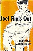 Joel Finds Out by Joan G. Sugarman