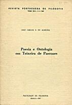 Poesia e Ontologia em Teixeira de Pascoaes…