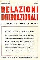 11. 1-25 : Relazioni Internazionali dal 7…