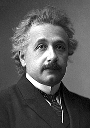Author photo. Albert Einstein, official 1921 Nobel Prize in Physics photograph.