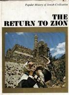 The Return to Zion by ARYEH RUBINSTEIN