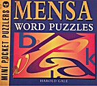 Mensa Word Puzzles by Harold Gale
