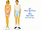 The Prince & Princess of Wales Paper Dolls…