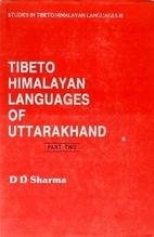Tibeto-Himalayan Languages Of Uttarakhand…