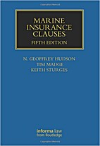 Marine Insurance Clauses (Maritime and…