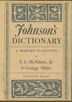 Johnson's Dictionary: A Modern Selection by…
