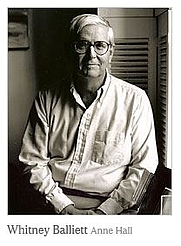 Author photo. photo by Anne Hall in his NY Times obit: <a href=&quot;http://www.nytimes.com/2007/02/03/arts/music/03balliett.html&quot; rel=&quot;nofollow&quot; target=&quot;_top&quot;>http://www.nytimes.com/2007/02/03/arts/music/03balliett.html</a>