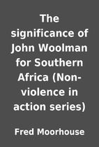 The significance of John Woolman for…