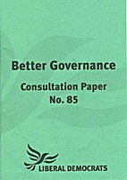 Better Governance Consultation Paper No 85…