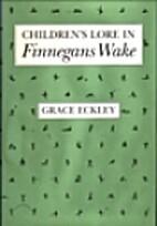 Children's Lore in Finnegans Wake (Irish…