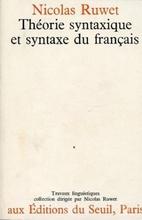 Théorie syntaxique et syntaxe du français…