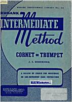 Rubank intermediate method Cornet or trumpet…