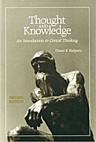 Thought and Knowledge: An Introduction to…
