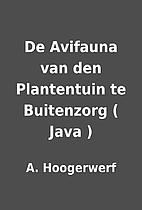 De Avifauna van den Plantentuin te…
