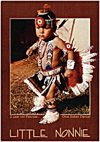 Two Year Old Pawnee- Otoe Indian Dancer…