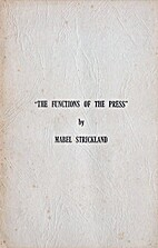 The Functions of the Press by Mabel…