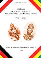 100 Jahre Deutsch-Äthiopischer…