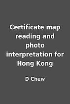 Certificate map reading and photo…
